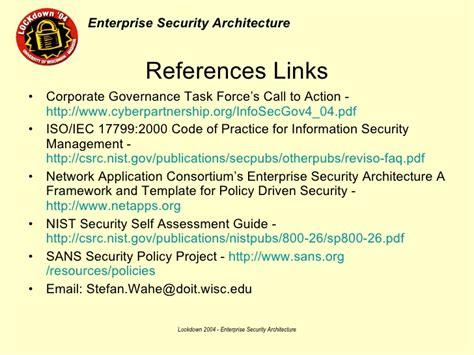 Power Point Presentation Information Security Policy Template Nist