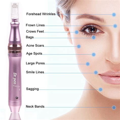 Dr Pen Ultima M7 W Wireless electric derma pen dr pen auto micro needle roller w