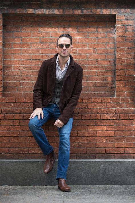 How To Wear Jeans with Boots for Fall   He Spoke Style