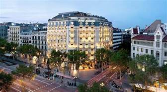 hotels barcelona luxury spa hotel in barcelona city centre majestic hotel