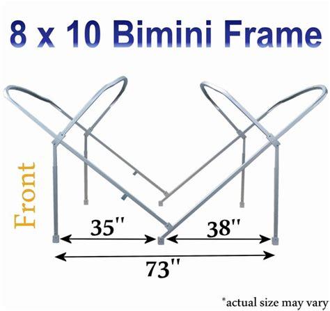 pontoon bimini top frame pontoon bimini tops