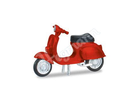 Motorrad Modelle H0 by Vespa 50 R Quot Rot Quot Miniatur Motorrad Im Modellbahn Ma 223 Stab