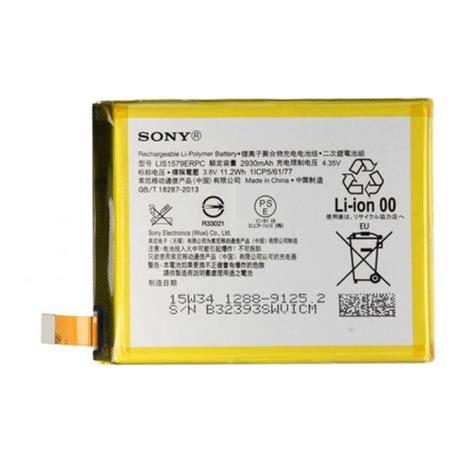 Baterai Sony Z3 jual sony original baterai for sony xperia z3 plus or z4