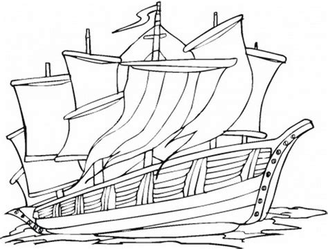 columbus day ships coloring pages family holiday net