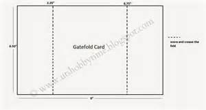 uts hobby time handmade gate fold greeting card for