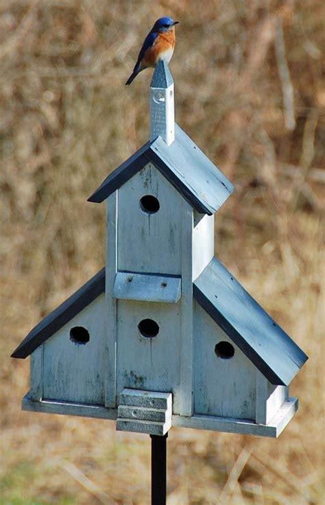 bluebirds welcome birdhouses diy tuin garden