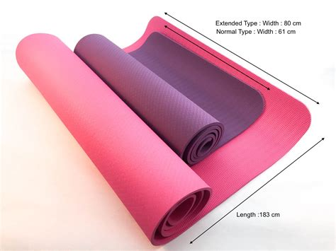 Average Mat Size by Tpe Anti Slip Mat 183 X 61 Cm Thickness 6mm
