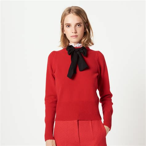 Bow Sweater bow sweater with collaret s2769h sweaters cardigans