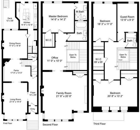 brownstone floor plans giuliana and bill rancic s remodeled brownstone in chicago