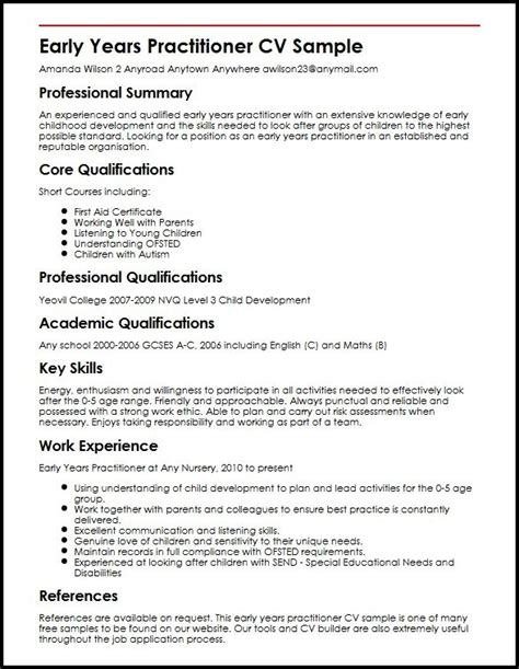 sle cv for victoria state sponsorship cv template for year 11 choice image certificate design