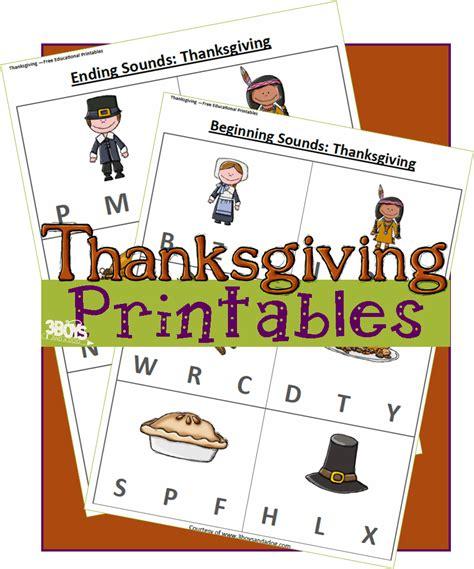 thanksgiving printables early reader worksheets 3 boys