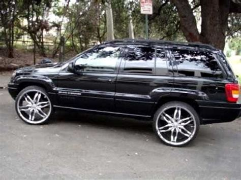 grand on 24s jeep grand on 24s