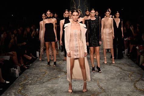 Top Model Sightings At Fashion Week bevy of white runway models walk to beyonc 233 s formation
