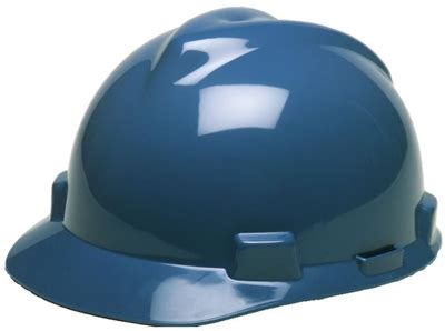the most comfortable hard hat msa 475359 blue v gard slotted cap style hard hat with fas