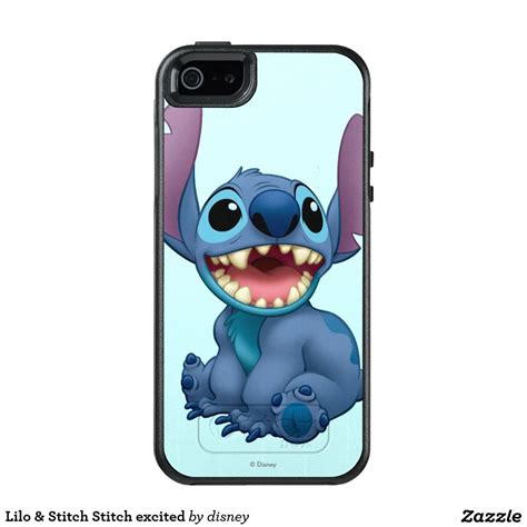 lilo stitch stitch excited otterbox iphone 5 5s se