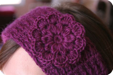 crochet pattern for headbands with flowers crochet flower headband pattern images