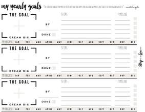 Template For Goal Setting Worksheet by Free Goal Setting Worksheets Skip To My Lou