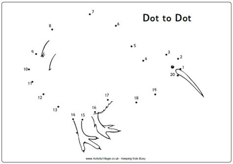 creative birds dot to dot coloring books colouring pictures brook waimarama sanctuary