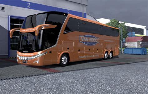 mod bus game ets2 bus g7 1600 ld 6x2 skinpack v1 12 1 euro truck