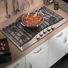 countertop gas cooking range kitchen makeover