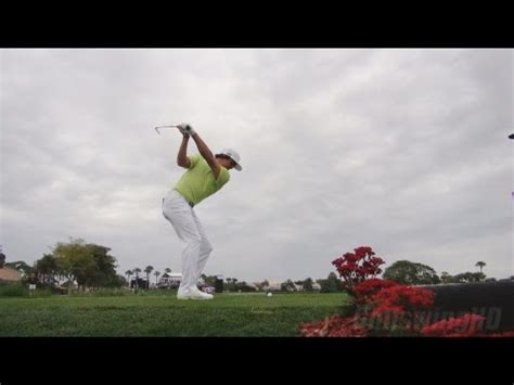 rickie fowler swing slow motion golf swing 2013 rickie fowler iron drive ground level