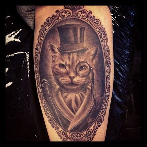 cat tattoo top hat 10 best images about awesome animals on pinterest
