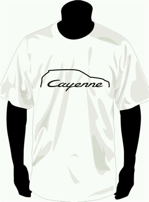 Porsche T Shirt Ebay by Tshirt Silhouette Porsche Cayenne Ebay