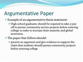 Argument Essay Thesis by Thesis Statements A How To Ppt