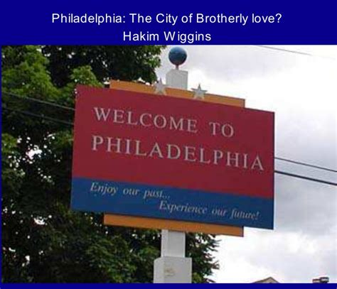 Brotherly From The City Of Brotherly 2 by Philadelphia The City Of Brotherly By Hakim Wiggins