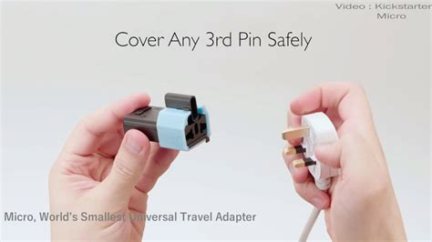 And The Smallest Travel by World S Smallest Universal Travel Adapter Micro