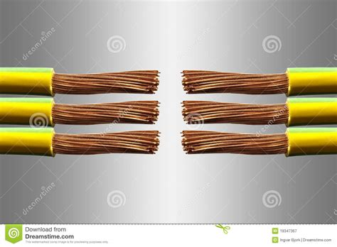 electrical wires royalty free stock photography image
