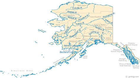physical map alaska index of images geology geology large alaska