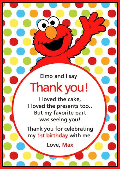 Free1st Birthday Wording For 99 162 Invitations 1000 Images About Sesame Birthday On Sesame Food Elmo