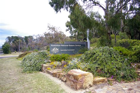 File Australian National Botanic Gardens Sign Jpg Australian National Botanic Gardens