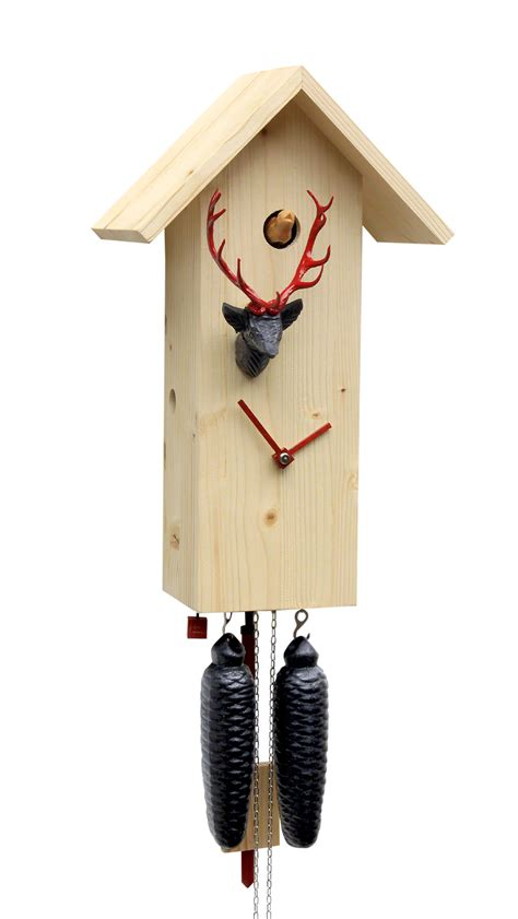 modern cuckoo clock cuckoo clock 8 day movement modern art style 41cm by