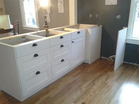 assembling ikea kitchen cabinets ikea akurum cabinets installation custom assembly and