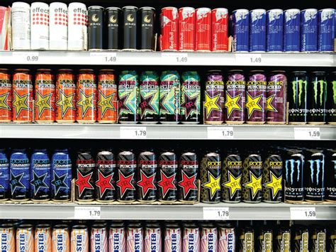 energy drink list a jolt of product liability risk insurance risk
