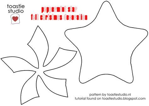 christmas patterns cut out christmas tutorial advent peppermint star handmade cuddles