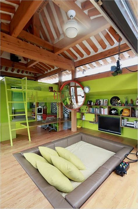 weird  wonderful room designs