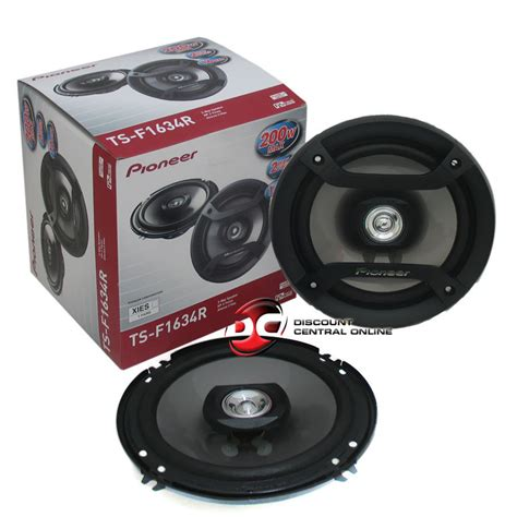 Speaker Venom 6inch pioneer 6 1 2 quot 6 5 inch 2 way car audio speakers 200 watts peak pair ebay