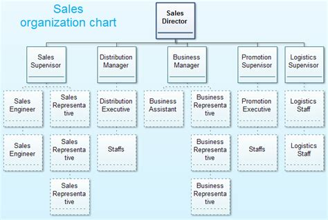Sales Team Structure Template by Sales Organization Structure
