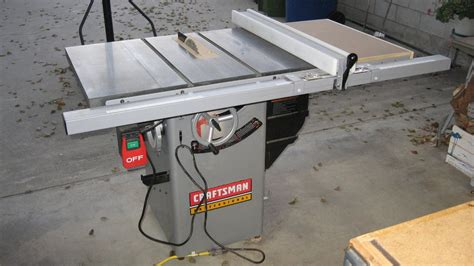 sears hybrid table saw review craftsman 22116 premium hybrid tablesaw by dnick