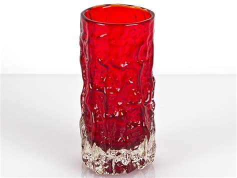 c1968 whitefriars glass bark vase geoffrey barker ebay