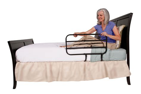 adult bed rail amazon com able life bedside extend a rail adjustable