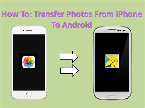 switching to iphone from android how to transfer photos from iphone to android