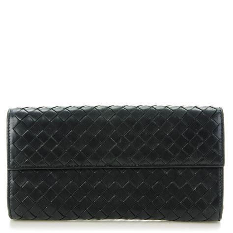 Bottega Veneta Continental Flap Wallet by Bottega Veneta Nappa Intrecciato Continental Flap Wallet