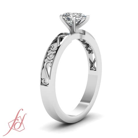 1 2 carat pear shaped classic s design solitaire