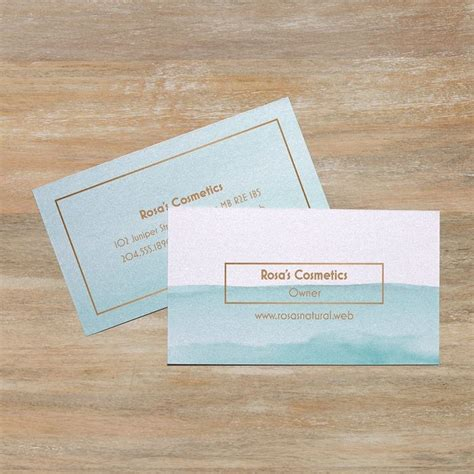 Business Card Paper Stock