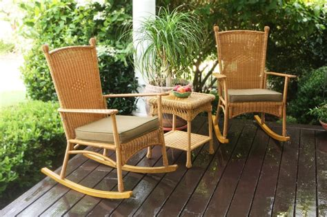 southwest outdoor furniture 3 pc outdoor patio southwest resin wicker classic rocking chairs table ebay