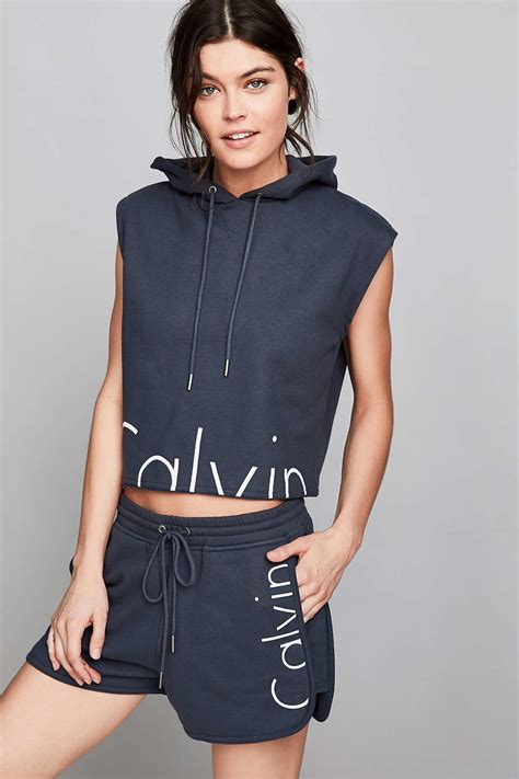 Ck 101 Mini Navy lyst calvin klein for uo capsule drawstring sweat